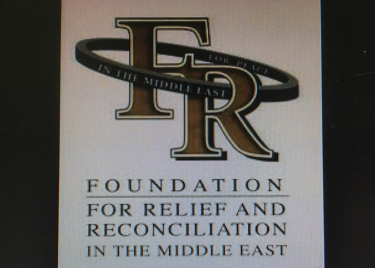 10.30am - The Foundation for Relief and Reconciliation in the Middle East Image